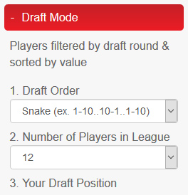 Draft Mode