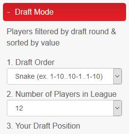 Draft Mode