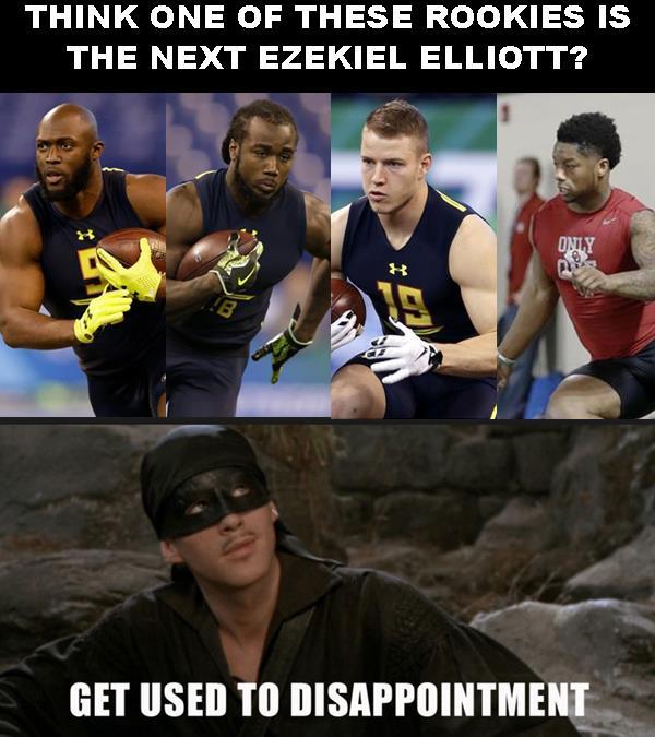 Fantasy Football Rant: Draft Rookie Running Backs At Your Own Risk!