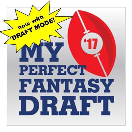 My Perfect Fantasy Draft (beta)